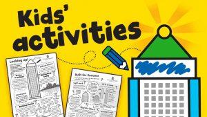 Canary Wharf activity sheets