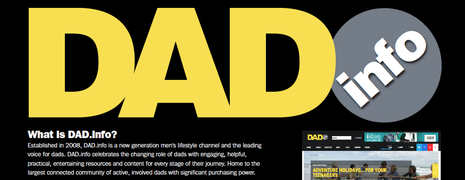 Dad.info image and logo